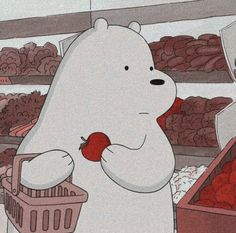 Ice Bear We Bare Bears, We Bear, Cartoon Profile Pics, Cartoon Profile Pictures, Bear Wallpaper, Disney Wallpaper, Photographie Portrait Inspiration, We Bare Bears Wallpapers, Animated Icons