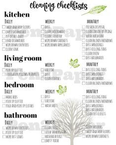 Cleaning Checklist // Cleaning Schedule // Home Management // Cleaning Blinds, Oven Cleaning, Toilet Cleaning, Cleaning Hacks, Diy Hacks, Cleaning Routines, Room Cleaning Tips, Spring Cleaning List, Cleaning Tips For Home