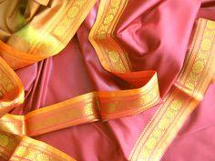 Sari weinrot 610cm indisch Saree Bollywood Kleid Deko Stoff Orient Indien | eBay