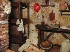 Foro de Belenismo - Miniaturas, detalles y complementos -> el taller de pan y bollería