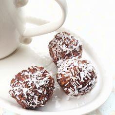 Coconut Oil Chocolate Nut Balls