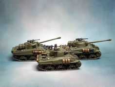 Flames of War | Aurelius Legion: Flames of War – Sherman Firefly Tanks – Finished