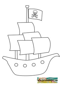 PirateShipColoringPagesPrintable rose coloring page m ap