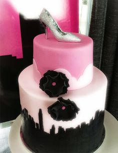 Fabulous Chanel & Sex and the City Dessert Table – The Cake