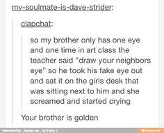 omg this is something I would totally do