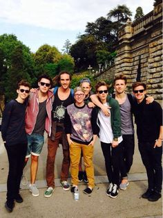 Troye and Alfie and Louis and Tyler and Caspar and Joe and Marcus and Connor❤️ Marcus Butler, Caspar Lee, Connor Franta, Joe Sugg, Tyler Oakley, British Youtubers, Best Youtubers, Troye Sivan, Louis Cole