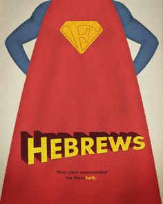 I love these Bible Book illustrations. I think they're so creative! Word: Hebrews