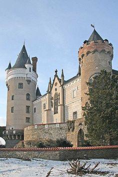 Žleby Castle, Czech Republic