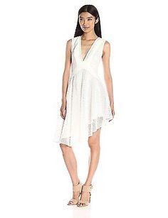 Medium, White, Finders Keepers Women's Begin Dress NEW