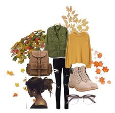 """""""Autumn Look/Battle of Hogwarts"""" by kdmorante on Polyvore featuring Miss Selfridge, Timberland, Gap and MANGO"""