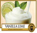 Vanilla Lime  Gradevole e rinfrescante .....la ricchezza cremosa della vaniglia con dolce zucchero di canna e una piccante scorzetta di lime.