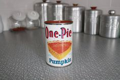 Candle In A Can Recycled by MabelStMiscellany on Etsy, $5.00