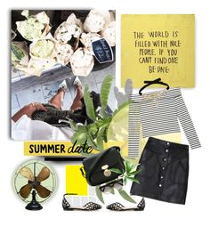 """""""Summer Breeze"""" by jacque-reid ❤ liked on Polyvore featuring Giorgio Armani, Prism and Jimmy Choo"""