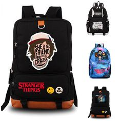 Cheap school bags, Buy Quality student school bag directly from China school bag backpack Suppliers: Stranger Things school bag Men women's backpack student school bag Notebook backpack Daily backpack Stranger Things Merchandise, Stranger Things Funny, Stranger Things Netflix, Cute Backpacks, School Backpacks, Backpack Brands, Women's Backpack, School Bags For Girls, Fashion Backpack