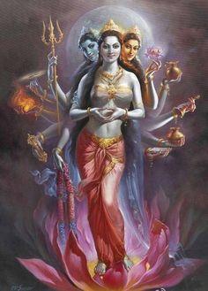 parvati lakshmi saraswati
