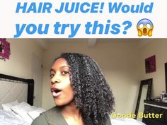 See why naturals made the switch to Goode Butter! A hair care duo that caters specifically for retaining hair length. This is a must for someone on their healthy hair journey! Included is our Extra Moisturizing Hair Juice packed with key ingredie Curly Hair Styles, Natural Hair Styles, Natural Hair Care Products, Hair Products, Natural Hair Growth Tips, Cheveux Ternes, Hair Protein, Long Natural Hair, Natural Hair