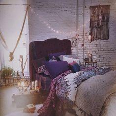Cute boho chic bedroom #design