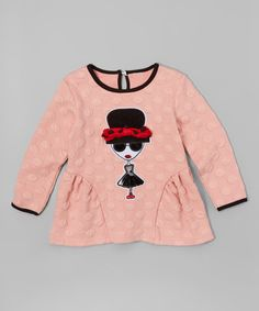 Look what I found on #zulily! Pink City Girl Swing Tee - Toddler & Girls #zulilyfinds