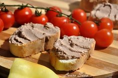 Crema de ficat de pasare Romanian Food, Mai, Muffin, Breakfast, Party, Morning Coffee, Receptions, Cupcakes, Muffins