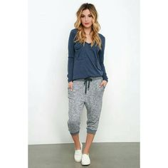 """""""Whether you are sleeping or hitting the pavement,  we could all use a pair of cozy joggers. These terry knit joggers are so soft and comfortable. Pair…"""""""