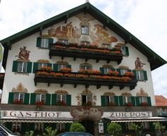 Garmisch, Germany.  I Walked By This Building Dozens of Times