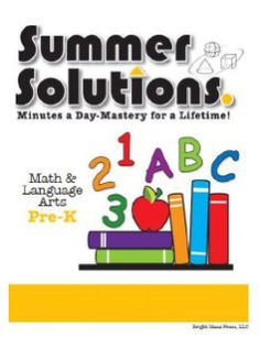 This book presents and practices basic skills such as recognition of colors, letters, shapes, and numbers. It also covers sorting, counting, using patterns, grouping objects, identifying opposites, rhyming, and writing left to right.  This book is for students entering kindergarten.