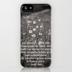 roald dahl's magic iPhone & iPod Case by lissalaine - $35.00