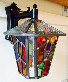 stained glass lantern | Stained