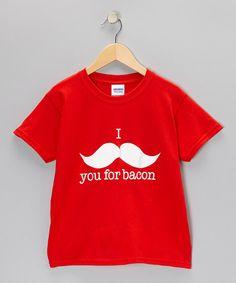 I moustache u for bacon!