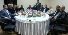 Mühsürler, yemekte milletvekilleriyle buluştu