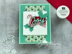 Felt Sheets, Cloud 9, Crafty Projects, Stampin Up, Christmas Cards, Card Making, Joy, Peace, Festive