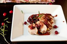 A Little Bit of This, That, and Everything: Crockpot Pork Tenderloin with Apple Cranberry Sauce