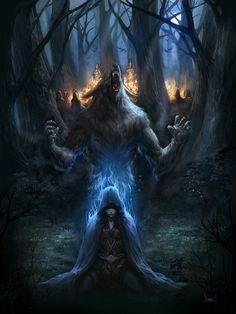 Druida fantasía
