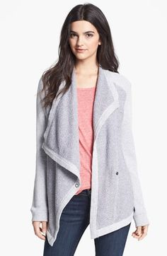 A great alternative to wearing a sweatshirt. This is sure to elevate your errands of gym outfit. Asymmetrical Cotton Jacket available at #Nordstrom. If you're always under the style microscope join us for the next round of SixFigureStyle.com...