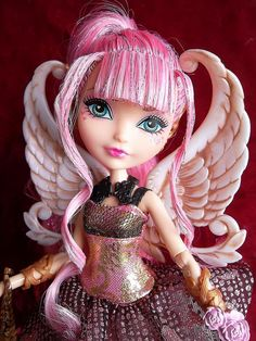 C.A. Cupid Thronecoming Ever After High Doll, 2014 (I bought her at Big Lots.)