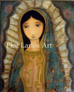 Flor Larios Art - Guadalupe