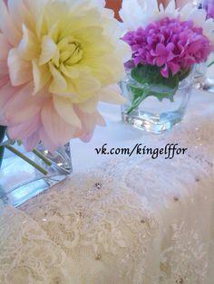 Оформление президиума молодых на свадьбе. Wedding decor