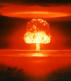 On November 1st, 1952, the United Sates detonated the first hydrogen bomb.