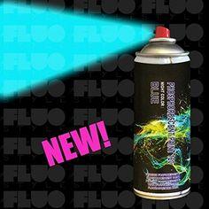 StickersLab-Pintura fluorescente que brilla en la oscuridad en spray