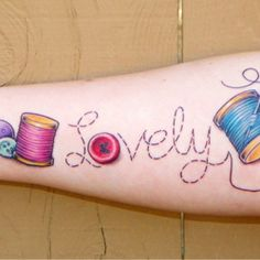 CrafTATstic: Crafty Tattoos: Lovely Tattoo | Craftster Blog