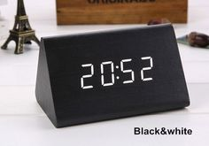 Home Decor Have An Inquiring Mind Led Alarm Clock Digital Led Display Voice Control Electric Snooze Night Backlight Desktop Table Clocks Watch Usb Charging Cable Keep You Fit All The Time Clocks