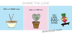 7 Cute and Quirky Valentine's Day eCards #swoon - Move Nourish Believe
