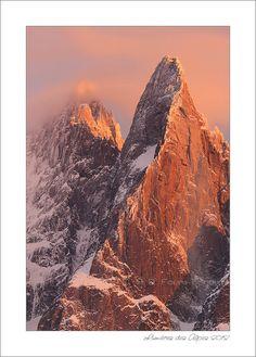Chamonix - Red Drus by Carole Favre-Bonvin, via 500px