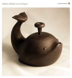 Baleen Whale Yixing teapot ~ Yixing (Pronounced Ee-Shing)