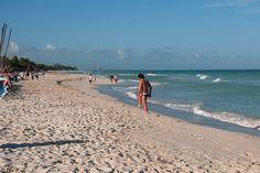 View of de beach located in front of de Barcelo Solymar resort in Varadero, Matanzas_ West Cuba
