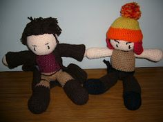 Mal & Jayne! These are being auctioned off along with Zoe and Kaylee at the Vancouver CSTS on June 9th.