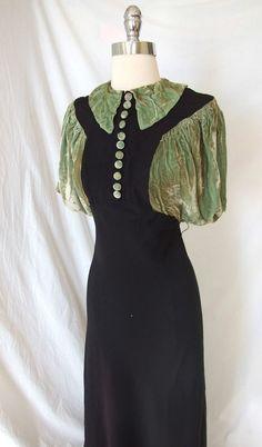 1930 day dress
