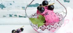 Blackcurrant Ice Cream