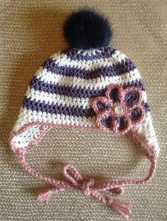 ☆ Bonnet Rétro Aviateur ☆ - Little Curiosité   Crochets   Pinterest    Crochet, Tricot crochet et Crochet for kids 16c1d896478