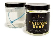 Bottled Unicorn Burps & Tears. Wow this is like air in the can. Why didn't I think of that?